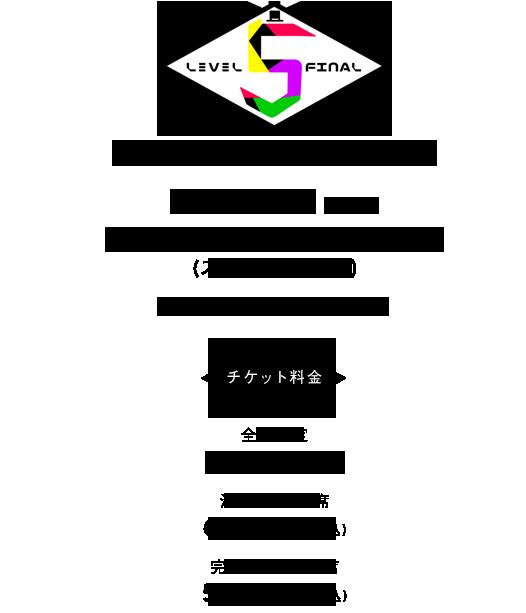 『level.4 in さいたまスーパーアリーナ』2018.12.26(wed) さいたまスーパーアリーナ 16:30開場/17:30開演 チケット料金6,500円(税込)